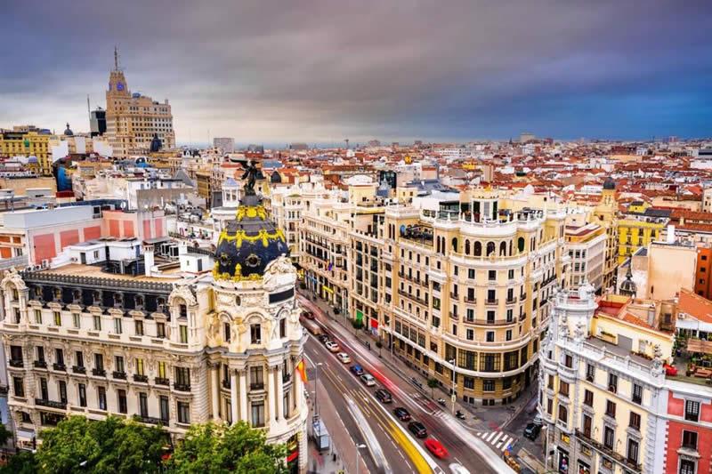 Μαδρίτη - 4 ημέρες αεροπορικώς με πρωινό